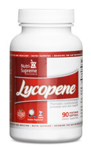 Nutri Supreme - Lycopene 15 mg - 90 Softgels - Front - DoctorVicks.com