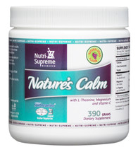Nutri Supreme - Nature's Calm Powder - Grape Flavor - 390 Grams Powder - Front - DoctorVicks.com