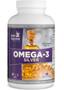 Nutri Supreme - Omega-3 Silver Fish Oil - 120 Softgels - Front - DoctorVicks.com