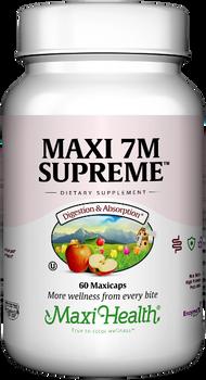 Maxi Health - Maxi 7M Supreme - Acidophilus Formula - 60/120 MaxiCaps - DoctorVicks.com