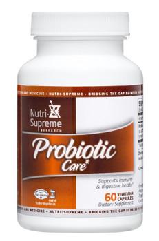Nutri Supreme - Probiotic Care 1.5 Billion Live & Active CFUs - 60 Capsules - Front - DoctorVicks.com