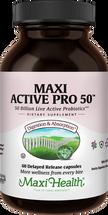 Maxi Health - Maxi Active Pro-50 - 50 Billion Live & Active CFUs - 30/60 MaxiCaps - DoctorVicks.com