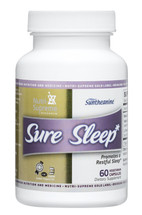 Nutri Supreme - Sure Sleep - Melatonin 3 mg - 60 Capsules - Front - DoctorVicks.com