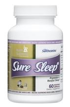 Nutri Supreme - Sure Sleep - Melatonin 3 mg - 60 Capsules - Front - DoctorVicks.com