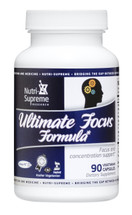 Nutri Supreme - Ultimate Focus Formula - 90 Capsules - Front - DoctorVicks.com