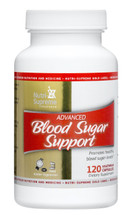 Nutri Supreme - Advanced Blood Sugar Support - 120 Capsules - Front - DoctorVicks.com