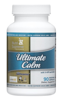 Nutri Supreme - Ultimate Calm - Sleep & Relaxation Formula - 90 Capsules - Front - DoctorVicks.com