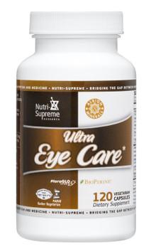 Nutri Supreme - Ultra Eye Care - 120 Capsules - Front - DoctorVicks.com