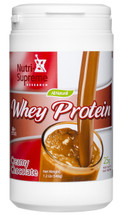 Nutri Supreme - Whey Protein - Chocolate Flavor - 1.2 lb Powder - Front - DoctorVicks.com