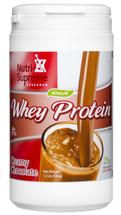 Nutri Supreme - Whey Protein - Chocolate Flavor - 1.2 lb Powder - Front - DoctorVicks.com