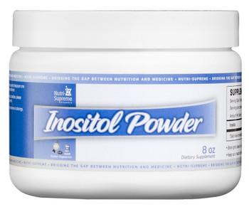 Nutri Supreme - Inositol Powder (B8) 900 mg - 8 oz Powder - Front - DoctorVicks.com