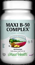 Maxi Health - Maxi B-50 Complex - 100 / 250 MaxiCaps