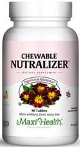 Maxi Health - Chewable Nutralizer - Digestive & Acid Reflux Formula - Tropical Flavor - 90 Chewies - DoctorVicks.com