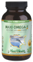 Maxi Health - Triple Maxi Omega-3 Concentrate With D3 2000 IU - 200 (180+20) MaxiGels - Normal - DoctorVicks.com