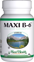 Maxi Health - Maxi B-6 100 mcg - 100 Tablets - DoctorVicks.com