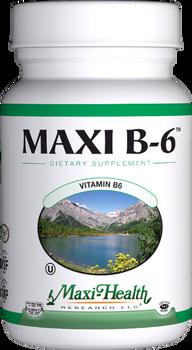 Maxi Health - Maxi B-6 100 mcg - 100 Tablets - DoctorVicks.com