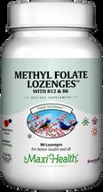 Maxi Health - Methyl Folate Lozenges With B12 & B6 - Berry Flavor - 90 Lozenges - DoctorVicks.com