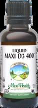 Maxi Health - Liquid Maxi Vitamin D3 400 IU - 1 fl oz - DoctorVicks.com