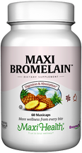 Maxi Health - Maxi Bromelain - Digestive Formula - 60 MaxiCaps - DoctorVicks.com