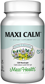 Maxi Health - Maxi Calm - Stress Reliever - 100 MaxiCaps - DoctorVicks.com