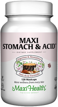 Maxi Health - Maxi Stomach & Acid - Digestive Supplement - 120 MaxiCaps - DoctorVicks.com
