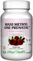 Maxi Health - Maxi Methyl One Prenatal - 60 MaxiCaps - DoctorVicks.com