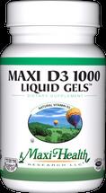 Maxi Health - Maxi Vitamin D3 1000 IU - 90 Liquid Softgels - DoctorVicks.com