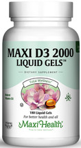 Maxi Health - Maxi Vitamin D3 2000 IU - 90 Liquid Softgels - DoctorVicks.com