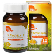 Zahler's - BioDophilus - 10 Billion Live & Active CFUs - 60 Capsules - DoctorVicks.com