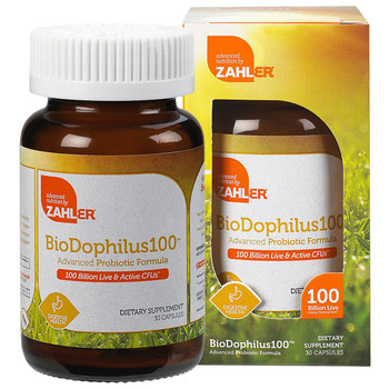 Zahler's - BioDophilus - 100 Billion Live & Active CFUs - 30 Capsules - DoctorVicks.com