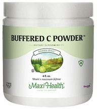 Maxi Health - Buffered C Powder - Vitamin C 800 mg - 4 oz Powder - DoctorVicks.com