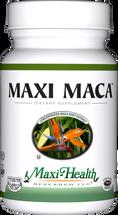 Maxi Health - Maxi Maca - Energy & Hormon Formula - 90 MaxiCaps - Front - DoctorVicks.com