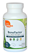 Zahler - BoneFactor - Elemental Bone Strength Formula - Maintains Bone Health & Density