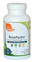 Zahler - BoneFactor - Elemental Bone Strength Formula - Maintains Bone Health & Density