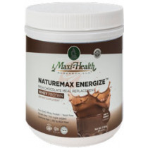Maxi Health - Naturemax Energize - Rich Chocolate Meal Replacement - Whey Protein - Dietary Supplement