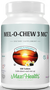 Maxi Health - Mel-O-Chew - Kosher Chewable Melatonin 3 mg - 100 Chewies