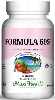 Maxi Health - Kosher Formula 605 (Melatonin 3 Mg) - 60 Vegetable Capsules