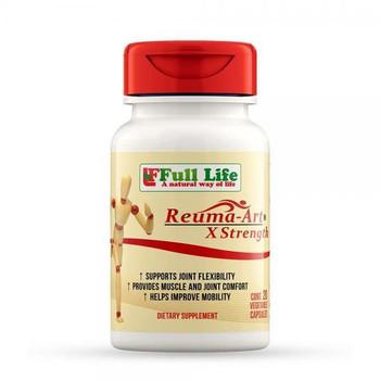 Full Life  A Natural Way of Life Reuma-Art X-Strength - 20 Vegetable Capsules