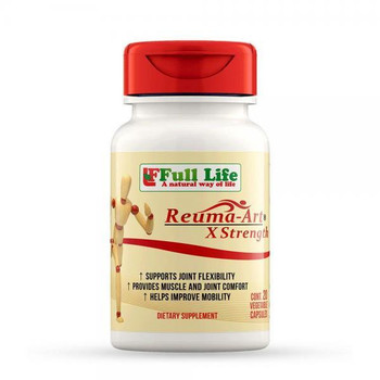 Full Life  A Natural Way of Life Reuma-Art X-Strength - 20 Vegetable Capsules