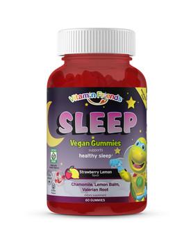 Vitamin Friends - SLEEP Melatonin FREE! Strawberry Lemon Flavor - 60 Gummy Bears - DoctorVicks.com