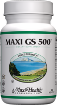 Maxi Health - Maxi GS 500 - Bone & Joint Formula - 180 MaxiCaps - DoctorVicks.com