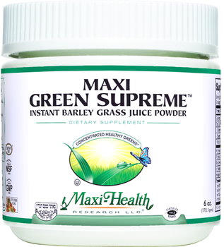 Maxi Health - Maxi Green Supreme - Energy Formula - 6 oz Powder - DoctorVicks.com