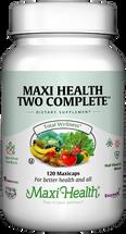 Maxi Health - Maxi Health Two Complete With Iron - Multivitamin & Mineral - 60/120/180 MaxiCaps - DoctorVicks.com