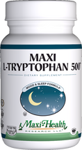 Maxi Health - Maxi L-Tryptophan 500 - Sleep Formula - 90 MaxiCaps - DoctorVicks.com