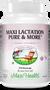 Maxi Health - Maxi Lactation Pure & More - 135/270 MaxiCaps - DoctorVicks.com