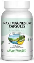 Maxi Health - Maxi Magnesium Capsules - 90 MaxiCaps - DoctorVicks.com