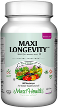 Maxi Health - Maxi Longevity for Women - Multivitamin & Mineral - 60/120 MaxiCaps - DoctorVicks.com