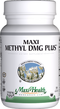 Maxi Health - Maxi Methyl DMG Plus - Brain & Energy Formula - 60/120 MaxiCaps - DoctorVicks.com