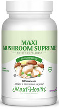 Maxi Health - Maxi Mushroom Supreme - 60 MaxiCaps - New - DoctorVicks.com