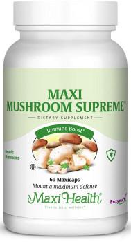 Maxi Health - Maxi Mushroom Supreme - 60 MaxiCaps - New - DoctorVicks.com